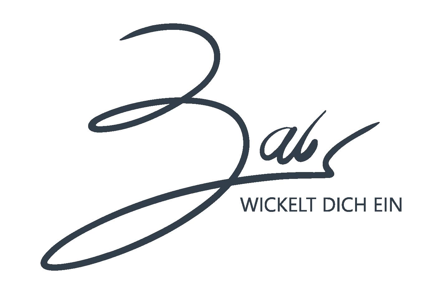 BABS wickelt dich ein Logo